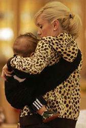 Even celebrities wear their babies.